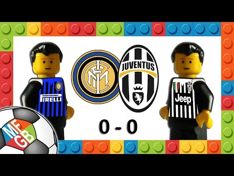 INTER - JUVENTUS 0-0 - Lego Calcio Serie A 2015/16 - Giornata 8 - Highlights E Sintesi