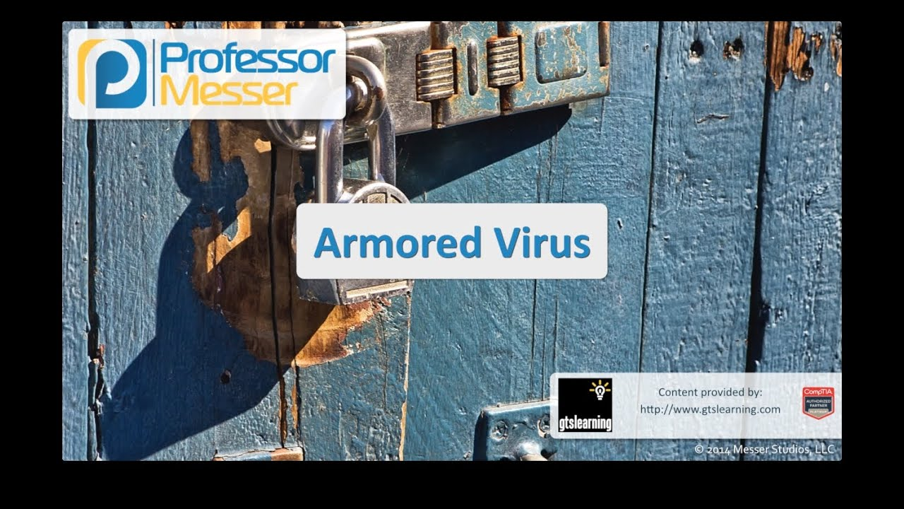 Armored Virus - CompTIA Security+ SY0-401: 3.1