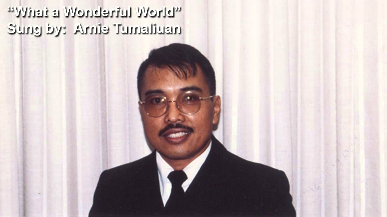 Arnie Tumaliuan What a Wonderful World - YouTube