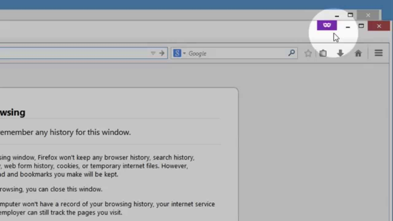Firefox Private Browsing - Browse the web without saving information about  the sites you visit