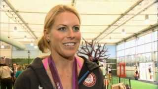 London 2012: Athletes bid farewell to Olympic Park
