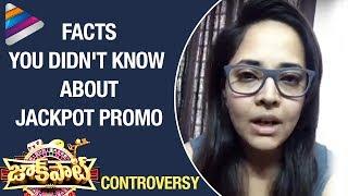 Anasuya Opens Up on JACKPOT SHOW Hyper Aadi Promo CONTROVERSY | Anchor #Anasuya | Telugu Filmnagar