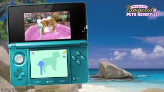 Paws & Claws Pampered Pets Resort 3D 3DS Debut Trailer