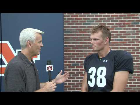 2016 Auburn Football Fall Camp Interviews: Daniel Carlson