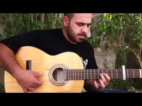 ARABIC SPANISH GUITAR 2 taksim   hijaz G and hijaz Cm RIMON HALLOUN