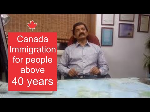 Manoj Palwe On Canada Immigration For People Above 40 Years