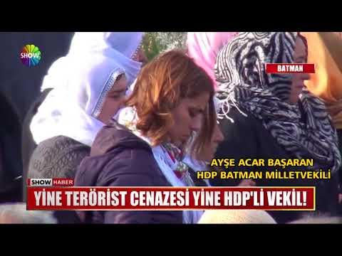 Yine terörist cenazesi yine HDP'li vekil!