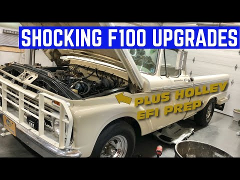 Shocking Upgrades For My 1965 Ford F100 *it's Kyb Shocks*