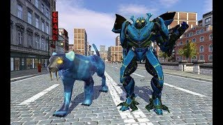 Multi Panther Robot Hero Grand Robot City Battle | Android GamePlay screenshot 5