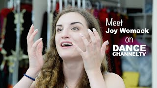 Joy Womack talks to Dance Channel TV