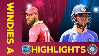 Windies A vs India A - Match Highlights | 1st ODI 2019 | India A Tour of West Indies