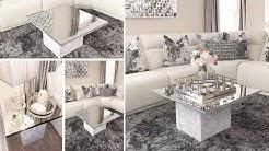 DIY Living Room Mirror Table Set! | Using Dollar Tree Mirrors to make Furniture!