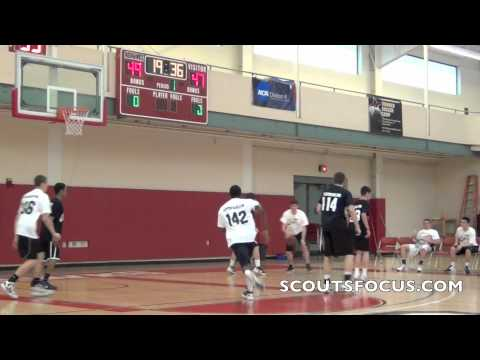 4White #135 Corey Alley, 6'3 175lbs, Parkersburg Christian School WV 2012