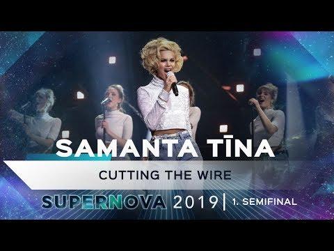 """Samanta TÄ«na """"Cutting the wire"""""""