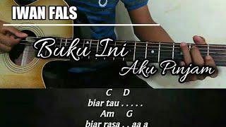 Kunci gitar | Iwan fals - Buku ini aku pinjam [akustik genjreng]