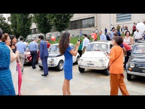 Fiat 500 - Una Giornata a Torino: 60th Anniversary Event in Turin