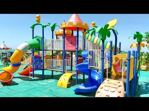 Thumbnail: Outdoor Playground Fun for Children - Family Park with Slides, Disney Mickey Mouse