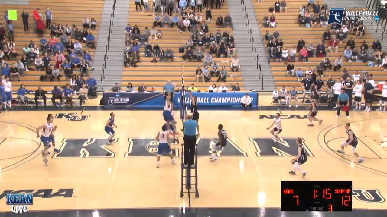 New Paltz Men's Volleyball Highlights vs. Kean (4/22/17 ...