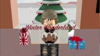 Roblox Winter Wonderland | Merry Christmas! (Roblox Music Video)