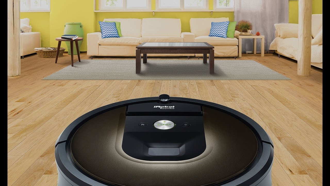 Roomba 980 From IRobot Automatic Vacuum Cleaner Its Time To Focus On Smart Jobs