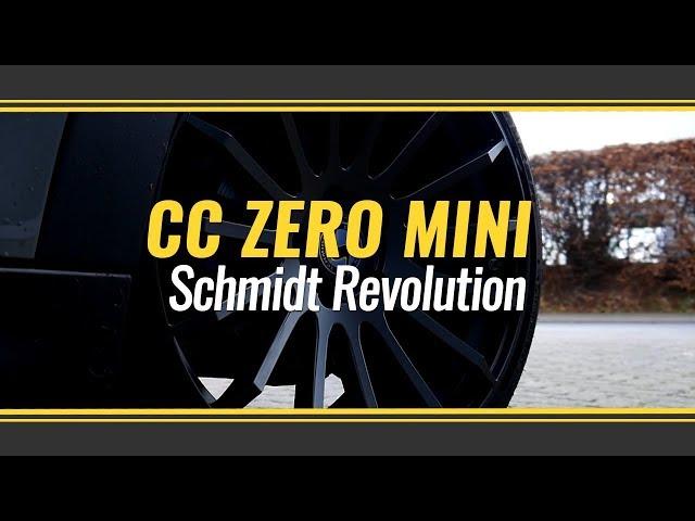 Mini Cooper mit Schmidt Revolution CC-Zero 8,5x19 mit 215/35R19 Falken Reifen Deep Concave!!