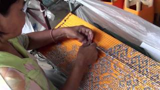 Thai IKAT Silk Weaving 2
