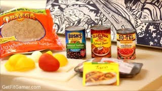 Healthy Burrito Recipe w Ground Sirloin Steak Burger - Lean Mexican Dish