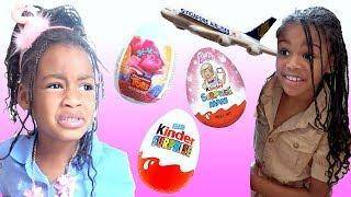 Fun Sisters Hide and Seek w/ Pretend Play Surprise  Easter Eggs