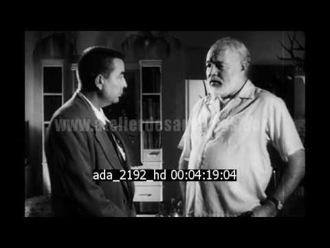 Interview d'Ernest Hemingway