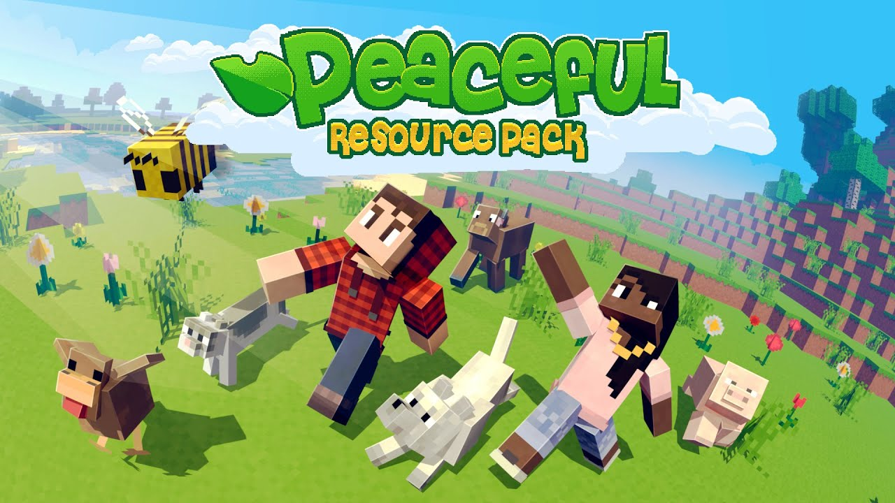 Peaceful Texture Pack In Minecraft Marketplace Minecraft