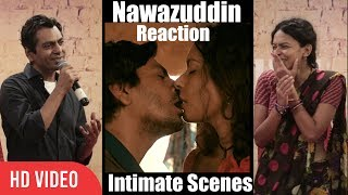 Babumoshai Bandookbaaz Hot Scenes | Nawazuddin Siddiqui Reaction Intimate Scenes