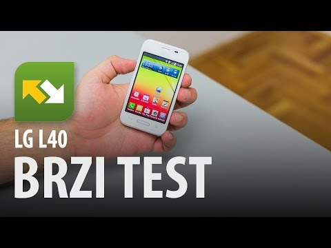LG L40 : brzi test
