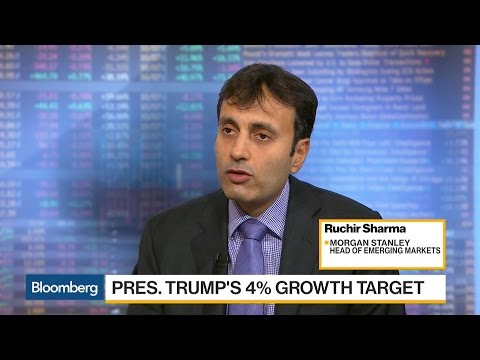 Morgan Stanley's Sharma: Trump to Fall Short of 4% Growth
