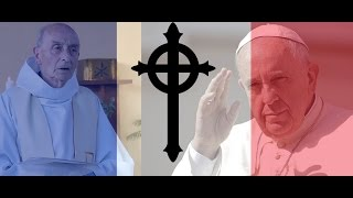 Pope Francis asked to declare French church terror victim martyr and saint HD