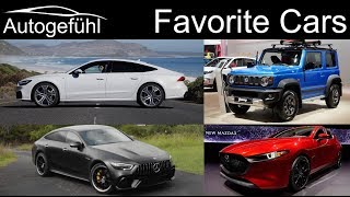 Best upcoming cars 2019 - what were our most favorite cars we reviewed?