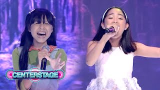 POWERFUL DUO! Charm Palapal and Jazzy Pedreno's duet of 'Narito Ako' | Centerstage