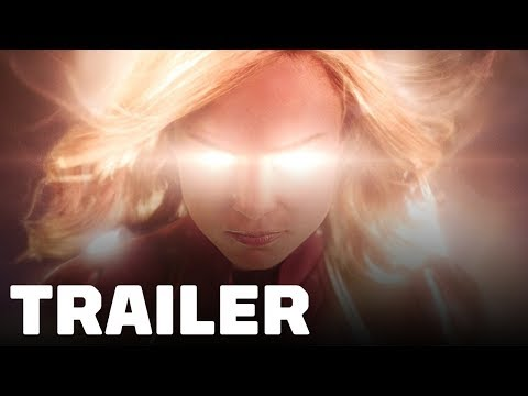 Captain Marvel Trailer (2019) Brie Larson