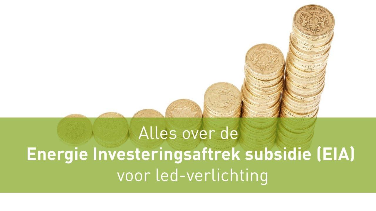 Alles over de Energie Investeringsaftrek subsidie (EIA) voor led ...