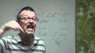 Q&A CUT (short u sound) COT (short o sound) CAUGHT (aw sound).wmv