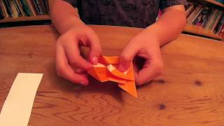 How to make an Origami Gondola