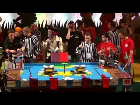 2012 - ClubElek vs Télécom Robotics - Coupe de France de robotique 2012 - petite finale
