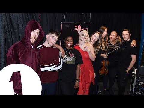 Clean Bandit - New Rules (Dua Lipa Cover) in the Radio 1 Live Lounge