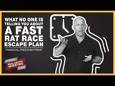 What No One Is Telling You About A Fast Rat Race Escape Plan