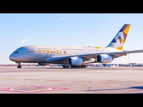 $7000 ETIHAD A380 BUSINESS CLASS STUDIO  - MELBOURNE to ABU DHABI | VLOG0104