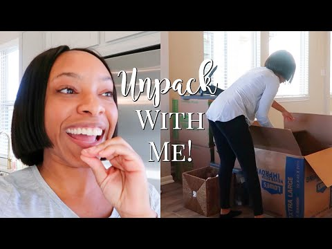 DAY #2 OF MOVING INTO MY NEW HOUSE   ORGANIZE & UNPACK WITH ME!!