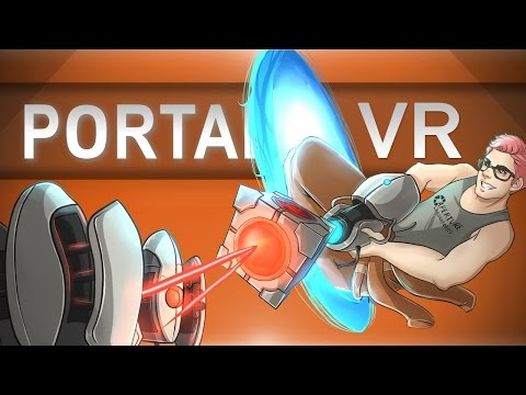 BRAND NEW PORTAL!   Portal Stories VR HTC Vive Gameplay