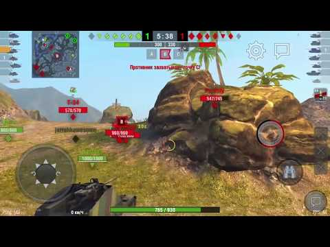 WoT Blitz - легендарный танк Т-34-85 gameplay #6 -World of Tanks Blitz (WoTB)