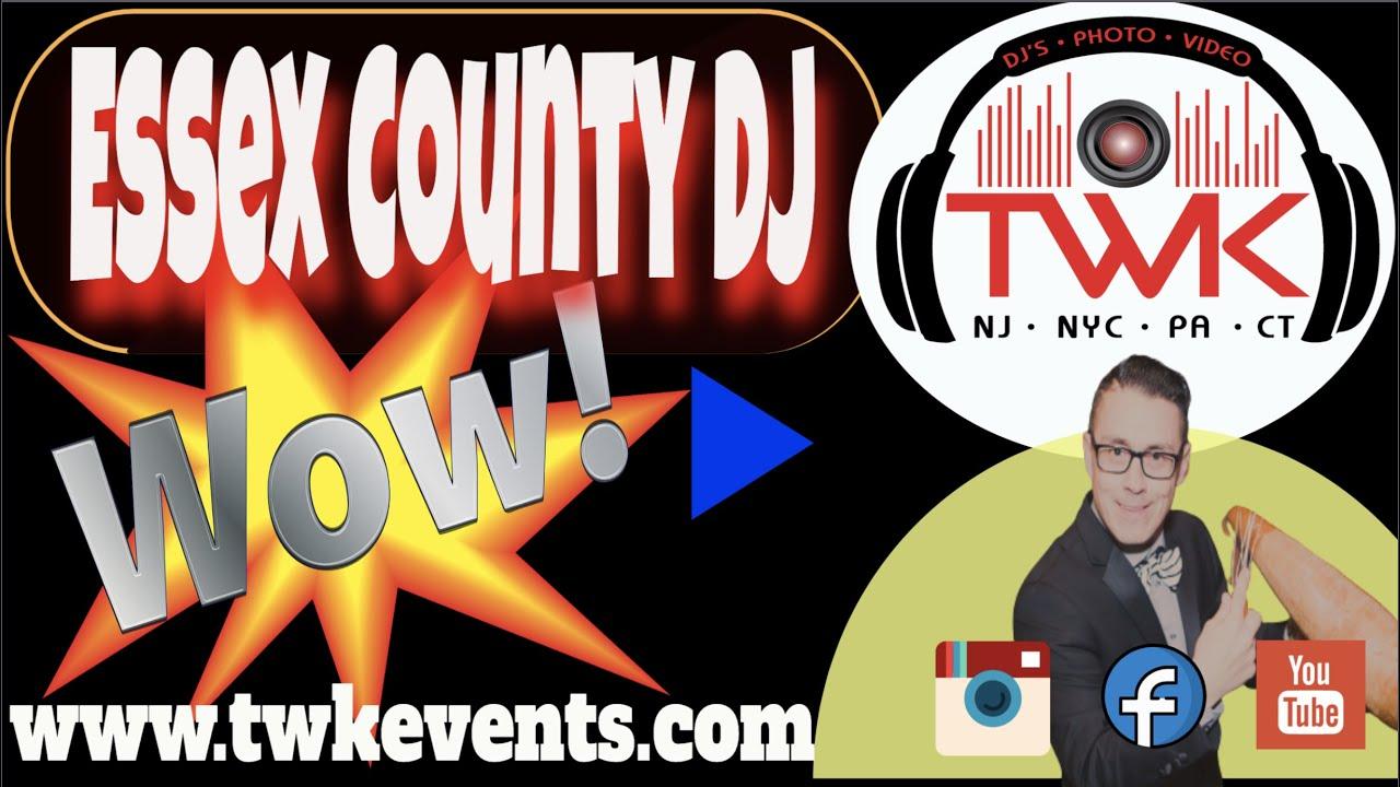 🤩 Wedding DJ West Orange NJ   TWK Events ~ Wedding DJs For Hire West Orange NJ   West Orange DJ