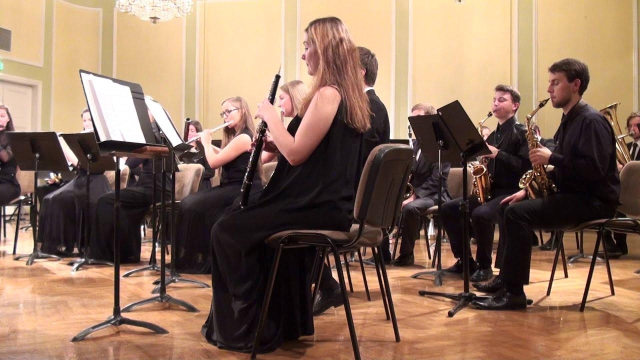 00618 JVLMA Pūtēju orķestra koncerts, 25.10 2015 JVLMA Lielā zālē