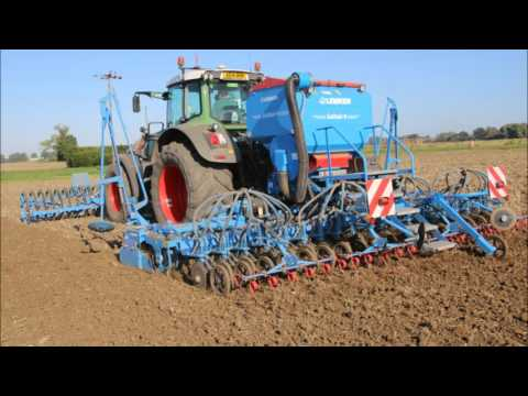 Fendt 936 Drilling winter wheat.2015